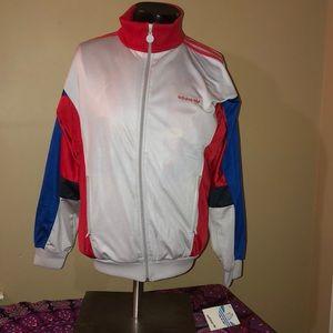 Vintage dead stock NWT 90s Adidas Track Jacket. M